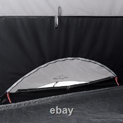 10 person Cabin Instant Tent Lighted LED Lighting System Zippered Privacy Panels