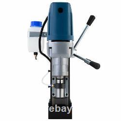 1550W Heavy Duty Magnetic Drill Press w 6 Core Drill Bits 2 Bore 3500lbf