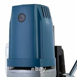 1550W Heavy Duty Magnetic Drill Press w Core Drill Bit Set 2 Inch Bore 3500 lbf
