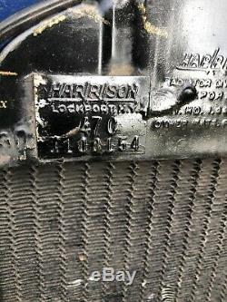 1937 Chevy Heavy Duty 3 Core Harrison Radiator Nos 3108154