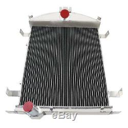 3 Rows Cores All Aluminum Radiator for 1928-1929 Ford Model A Heavy Duty 3.3L L4