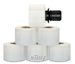 3 in x 1000 FT 90 Ga Extended Core Stretch Wrap + Black Spinner Handle 162 Rolls