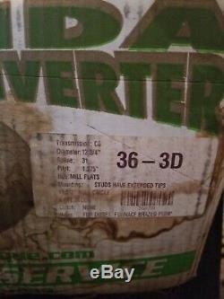 36-3D HEAVY DUTY FORD C6 TORQUE CONVERTER Mill Flats Hub Xtnded Studs no core $