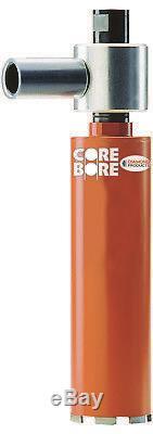 4 Heavy Duty Orange Dry Coring Core Bore Vauum Bit