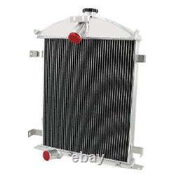 4 Row Core Aluminum Radiator For 1928-1929 Ford Model A Heavy Duty 3.3L L4 GAS