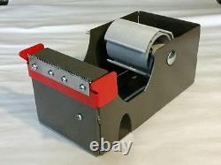 4 inch tape dispenser. Heavy Duty, Commercial grade. 4 wide 3 core