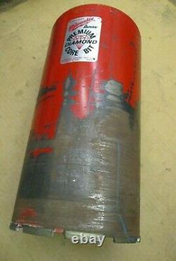 48-16-7006 Heavy-Duty Milwaukee Diamond Core Bit 7 Dia. 14 Tube Length A1898DH
