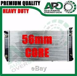 56mm Thick core Heavy Duty Radiator HOLDEN Suburban 5.7L V8 Auto Manual 1998-On