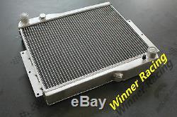 70mm Core Mg Mgb Gt V8 1973-1976 Aluminum Radiator Heavy-duty
