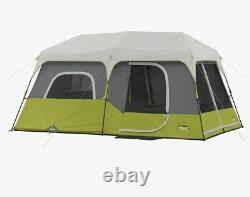 9 Person 3 Room Instant Cabin Tent Core Trail Outdoor Camping & Private Room