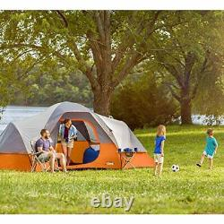 9 Person Extended Dome Tent Camping Beach Outdoor Portable Tent 16' x 9