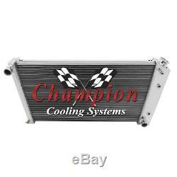 A/C Heavy Duty, 1970 -77 Chevy Monte Carlo 4 Row Core SubZero Champion Radiator
