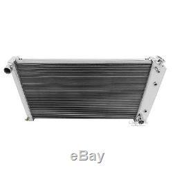 A/C Heavy Duty, Champion 3 Core RS Radiator 68 69 70 71 72 73 74-77 Chevelle