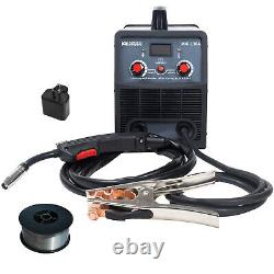 Amico MIG-130A, 130-Amp Flux Core Gasless DC Welder, 115V & 230V, 80% Duty Cycle