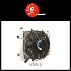 BD DIESEL Core Heavy Duty Trans CoolerFan-10 JIC Male Connection Xtrude-1300611