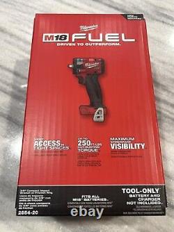 Brand New Milwaukee 2854-20 M18 3/8 Drive Fuel Impact Wrench Bare Tool