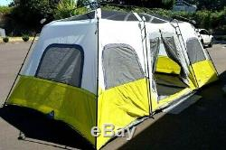 CORE 12-PERSON INSTANT CABIN TENT 18' x 10' x 80 3-ROOMS 2-MINUTE SET-UP