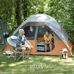 CORE 6 Person Dome Tent 11 x 9 Outdoor Survival Camping Hiking Backpacking Trips