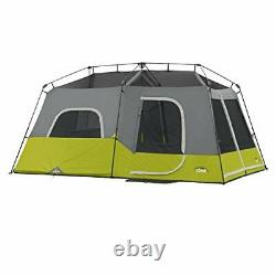 CORE 9 Person Instant Cabin Tent 14 x 9 Outdoor Camping Hiking Backpacking Green