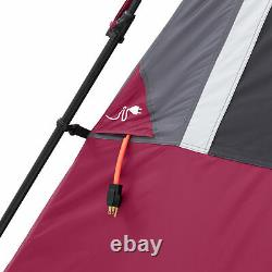 CORE Equipment 12 Person 18 Ft x 10 Ft Instant Cabin Tent, Wine (For Parts)