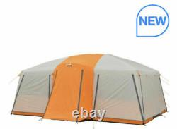 Camp Valley Core 12 Man Person Straight Wall Cabin Tent Camping Large Family New