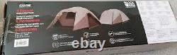 Camp Valley Core 6 Man Person Blockout Dome Tent Camping Dark Room