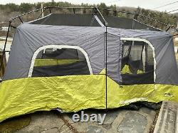 Core 40008 9 Person Instant Cabin Tent 14' X 9' Tents Canopies Camping Hiking