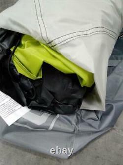 Core 6 Person Instant Cabin Tent In Gray /Green, 11 x 9
