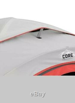 Core 6 Person Tent With Block Out Technology Brand New Orange