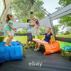 Core 9 Person Instant Cabin Tent 14' x 9' x 9', Green