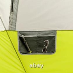 Core Equipment 12 Person Instant Cabin Tent, Green/Gray, 18 x 10 ft, 40027
