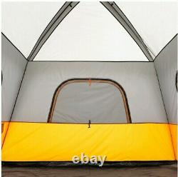 Core Equipment 6-Person 1-Room Straight Wall Cabin Camping Tent