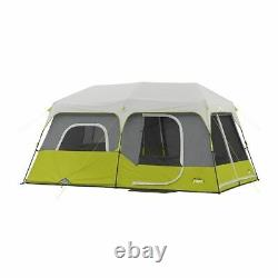 Core Equipment 9 Person Instant Cabin Tent, Green/Gray, 14 x 9 ft, 40008