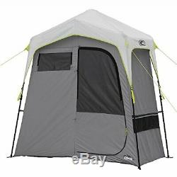 Core Instant Camping Utility Shower Tent with Changing Privacy Room