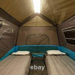 Core Lighted 6 Person Instant Cabin Tent 11' x 9
