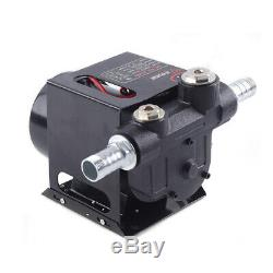 DC 24V Electric Heavy Duty Fuel Oil Diesel Transfer Pump Full Copper Core 550W