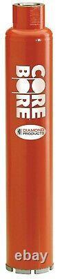 Diamond Products 00007 4 Heavy Duty Orange Diamond Core Bore Bit