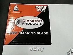 Diamond Products Core Cut 07508DIA Heavy Duty Cured Concrete Diamond Blade, 1