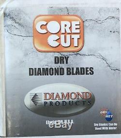 Diamond Products Core Cut 66666 20-Inch by 0.140 by 1-Inch Heavy Duty Orange Dr