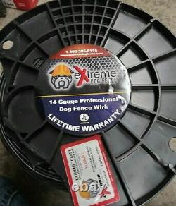 Extreme Dog Fence Ultimate Pure Solid Copper Core Spool 14 Gauge, 2000 SQ FT