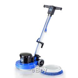 Floor Buffer and Scrubber Polisher Heavy-Duty Commercial Business Office Gyms