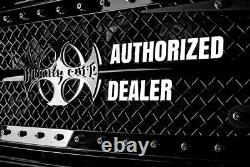 For Dodge Ram 3500 03-09 Royalty Core RC88 Billet Headache Rack w Diamond Mesh