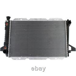For Ford F Super Duty Radiator 1988-1997 with Heavy Duty Cooling 2-Row Core 8cyl