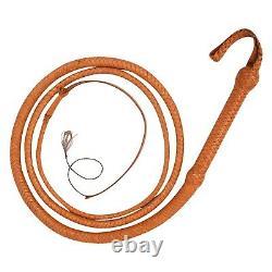 Genuine Leather Bullwhip 12 Feet Long, 16 Plaited Heavy Duty Core Whip Clearance