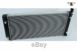 HEAVY-DUTY 2ROW RADIATOR withNEW CAP For 88-00 CHEVY C K SERIES TRUCK 5.7 w34Core