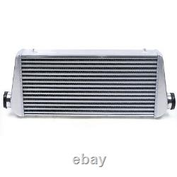 Heavy Duty Aluminum Intercooler 4 Inch Thickness Core 3 Inlet & Outlet