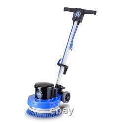 Heavy Duty Commercial Polisher Floor Casters Mobility Lightweight Buffer Scrubb