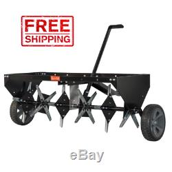 Heavy Duty Lawn Aerator Universal Core Plug Aerator Tow Behind Tractor Mower NEW