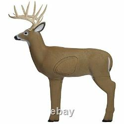 Heavy Duty Shooter Buck 3D Deer Archery Target with Replaceable Core Brown
