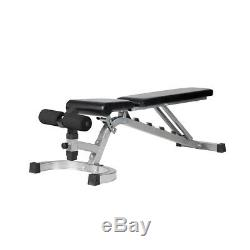 Heavy Duty Weight Bench Gym Full-Body Workout Fitness Core Exercise Training